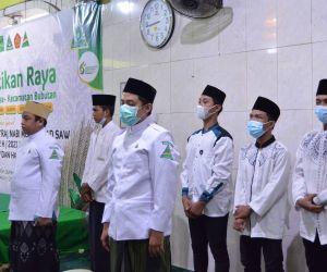 MDS Rijalul Ansor Meriahkan Pelantikan Raya IPNU-IPPNU Se Kecamatan Bubutan