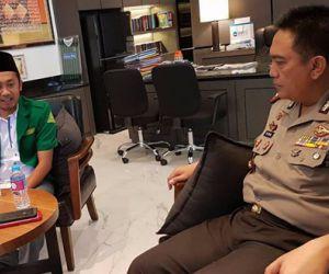 PC GP Ansor Surabaya Audensi Dengan Kapolrestabes Surabaya