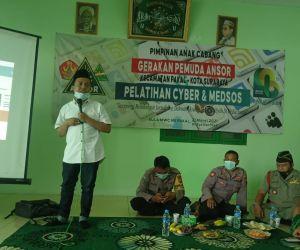 PAC GP ANSOR Pakal Adakan Pelatihan Cyber Media
